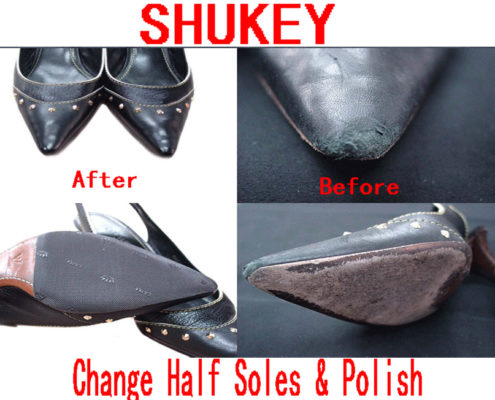 Shukey Leather Repairs Heels Sole Replacement and Polish