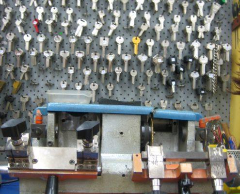 Shukey Key Duplication Wall of Keys