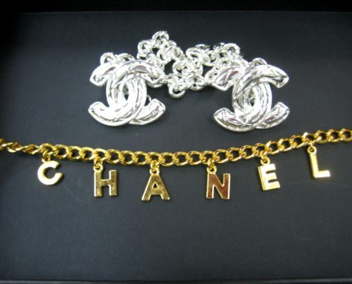 Shukey Metal Plating Example Chanel Gold Silver