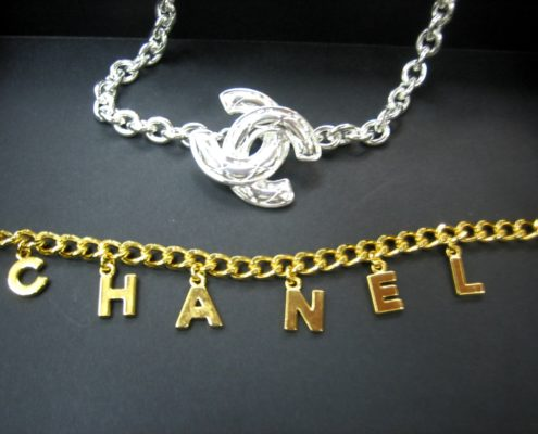 Shukey Metal Plating Example Chanel Gold Silver II