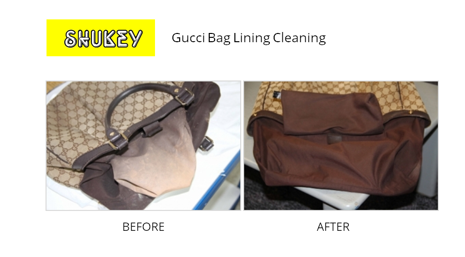 cc47c7d9716 ... Bag Lining Shukey Leather Repair - Before & After Gucci Lining Cleaning  ...