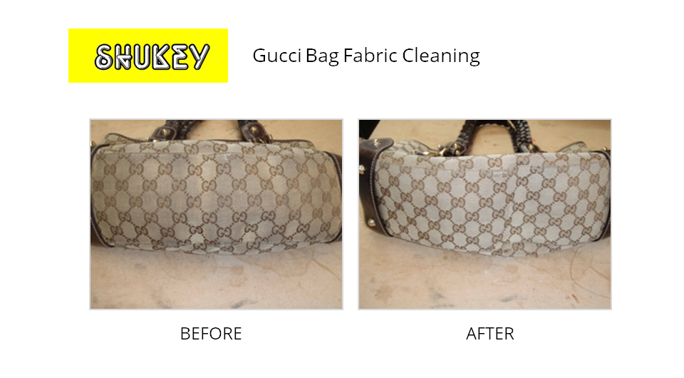 Shukey Leather Repair Before After Gucci Bag Fabric Cleaning